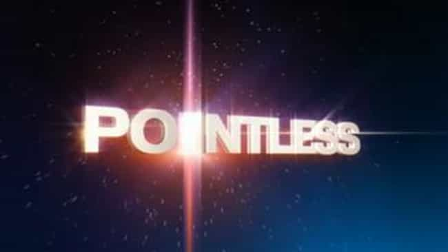 Pointless is listed (or ranked) 2 on the list The Very Best British Quiz Shows, Ranked