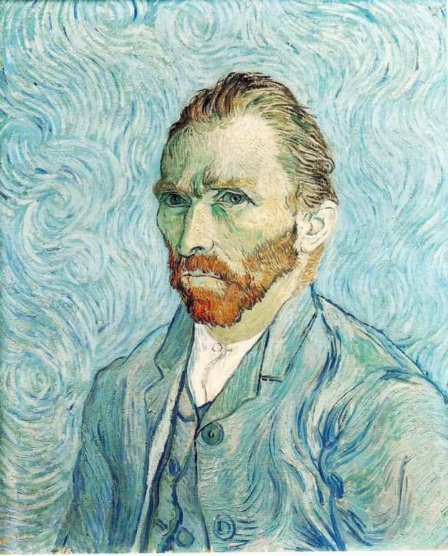 Vincent van Gogh is listed (or ranked) 4 on the list Famous Male Painters