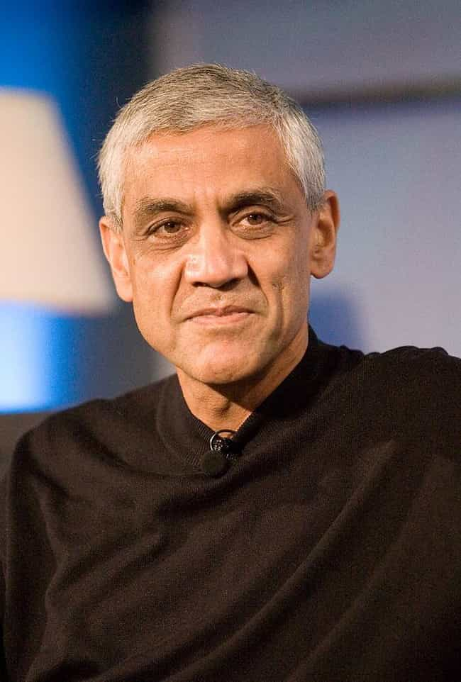 Vinod Khosla is listed (or ranked) 1 on the list Famous People who Majored in Biomedical Engineering