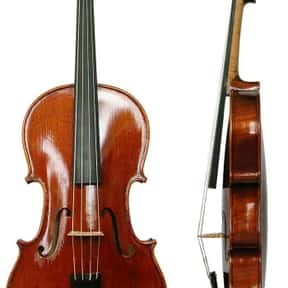 Viola is listed (or ranked) 12 on the list String instrument - Instruments in This Family
