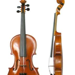 Violin is listed (or ranked) 13 on the list String instrument - Instruments in This Family