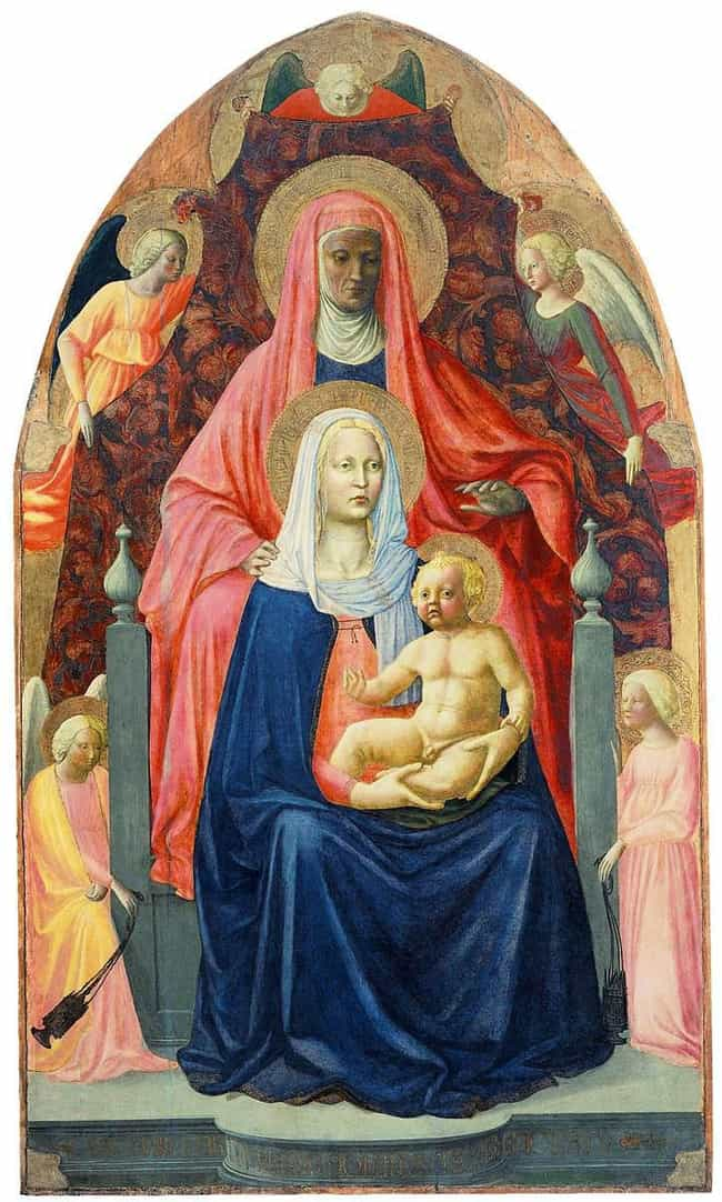 Virgin and Child with Saint An... is listed (or ranked) 4 on the list Famous Saint Anne Art