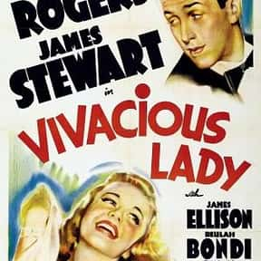 Vivacious Lady is listed (or ranked) 15 on the list The Best '30s Romantic Comedies