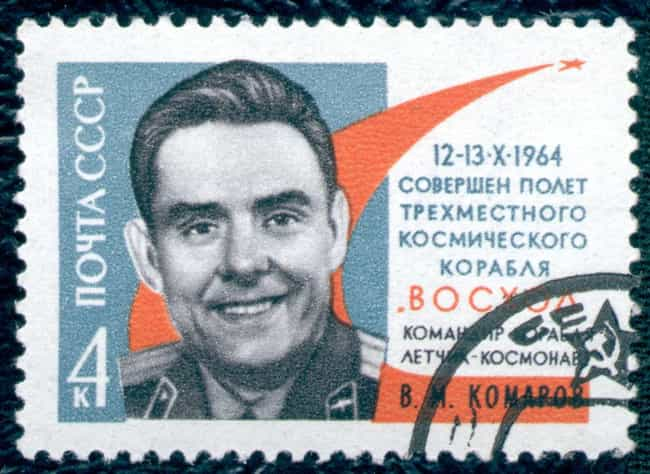 Vladimir Komarov is listed (or ranked) 1 on the list Astronauts Who Died in Flight