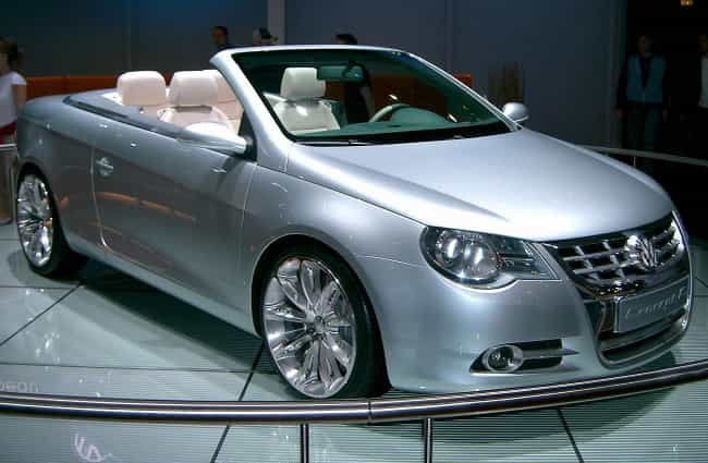 Volkswagen Eos is listed (or ranked) 4 on the list Full List of Volkswagen Models