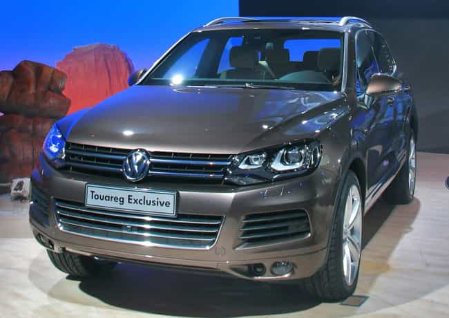 Volkswagen Touareg is listed (or ranked) 3 on the list Full List of Volkswagen Models