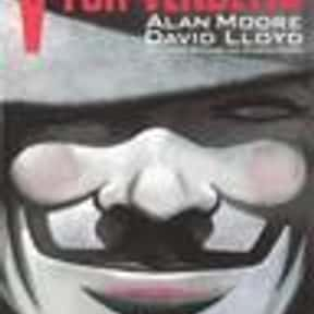 V for Vendetta is listed (or ranked) 14 on the list The Greatest Dystopian Novels