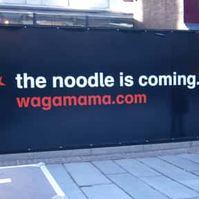 Wagamama is listed (or ranked) 2 on the list The Best Restaurant Chains of the UK