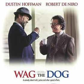 film review wag the dog It's a shame that when asked about robert de niro and dustin hoffman movies most people only know of the amusing _meet the fockers_ rather than the wickedly funny.