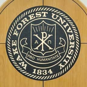 Wake Forest University is listed (or ranked) 12 on the list Black Enterprise's Top 50 Colleges For African Americans