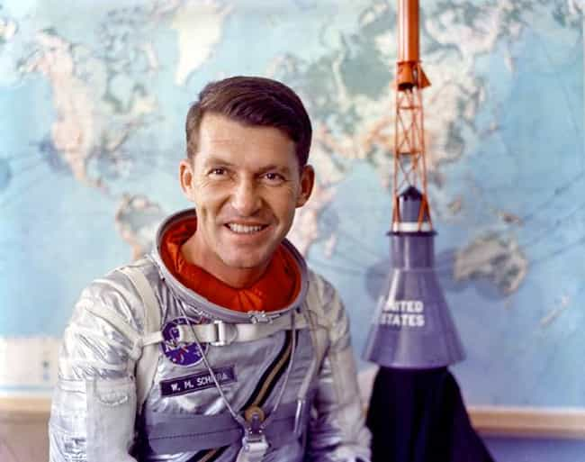 Wally Schirra is listed (or ranked) 2 on the list Famous Order of the Turtles Members
