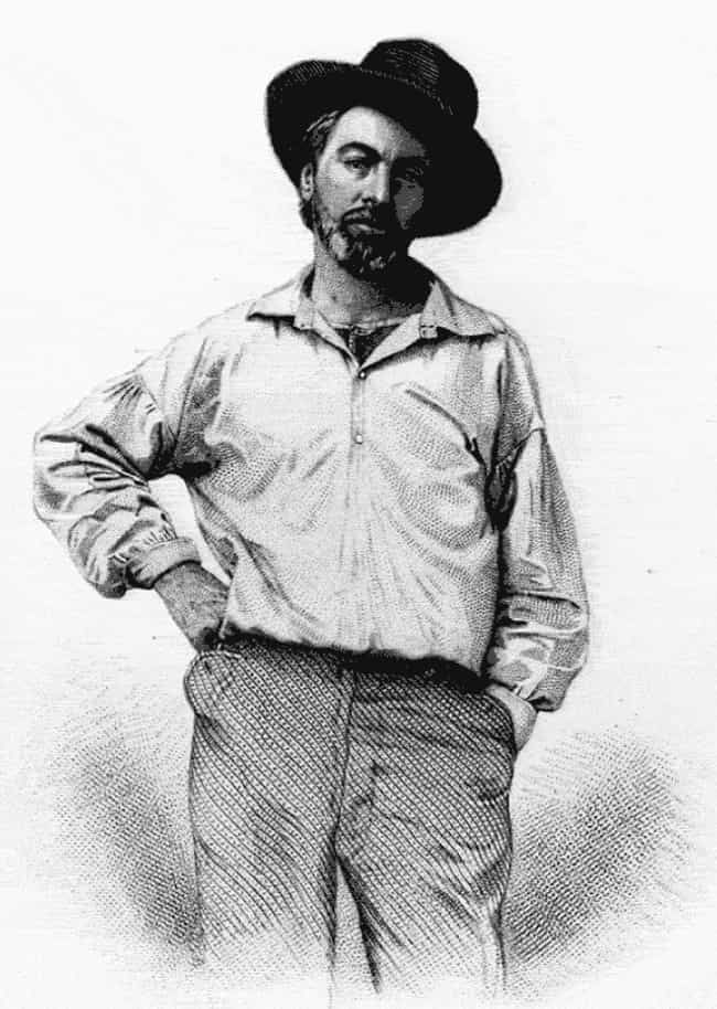 Walt Whitman is listed (or ranked) 4 on the list Famous Male Poets