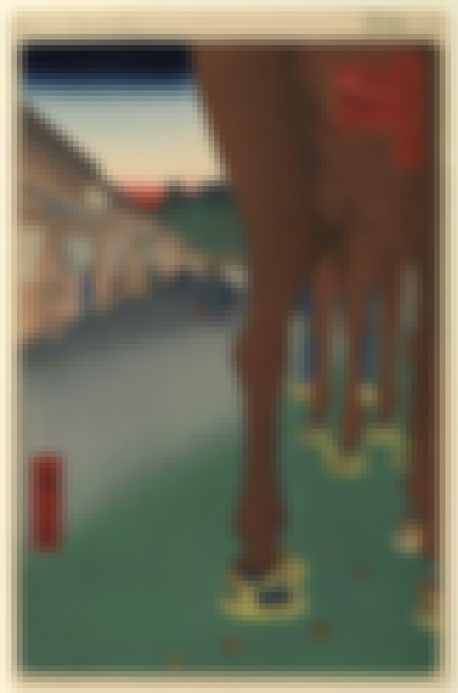 Naito Shinjuku, Yotsuya is listed (or ranked) 2 on the list List of Famous Hiroshige Artwork