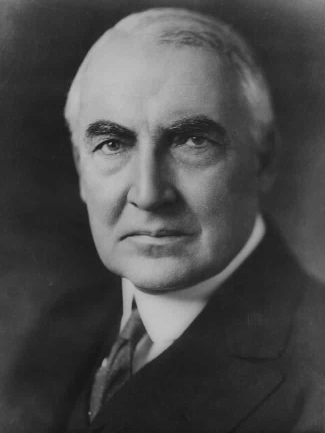Warren G. Harding is listed (or ranked) 2 on the list Famous Historical Men You Didn't Know Were Into Prostitutes