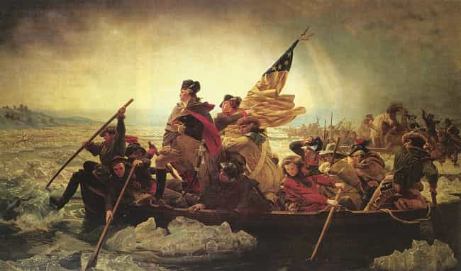 Washington Crossing the Delawa... is listed (or ranked) 1 on the list The Best American Revolution Paintings