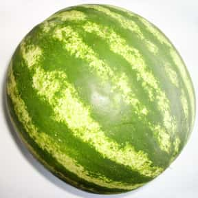 Watermelon is listed (or ranked) 16 on the list Low Fat foods