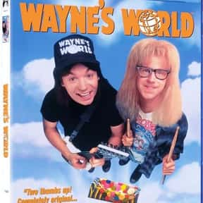 Wayne's World is listed (or ranked) 16 on the list The Funniest '90s Movies
