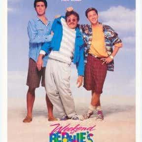 Weekend at Bernie's is listed (or ranked) 15 on the list The Funniest Movies About Death & Dying