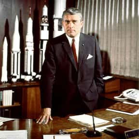 Wernher von Braun is listed (or ranked) 2 on the list List of Famous Aerospace Engineers