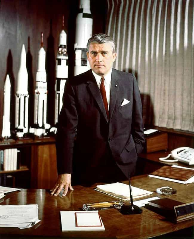 Wernher von Braun is listed (or ranked) 2 on the list Famous Male Aerospace Engineers