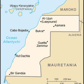 Western Sahara is listed (or ranked) 19 on the list The World's Most Repressive Societies
