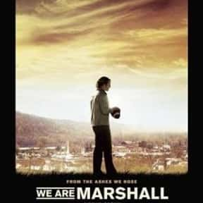 We Are Marshall is listed (or ranked) 10 on the list The Best Sports Movies About Coaches
