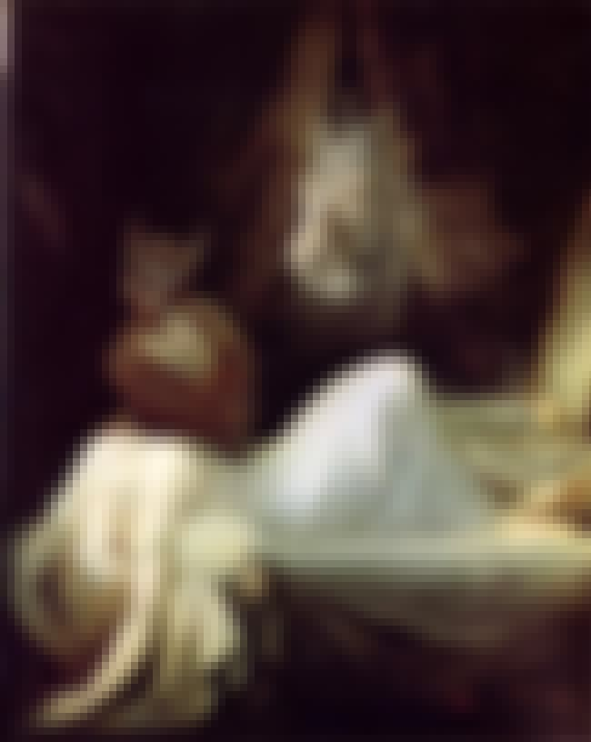 The Nightmare is listed (or ranked) 6 on the list List of Famous Henry Fuseli Artwork