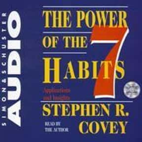 The Power Of The 7 Habits is listed (or ranked) 8 on the list The Most Overrated Books of All Time