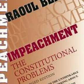 Impeachment is listed (or ranked) 15 on the list The Best Books About Jurisprudence