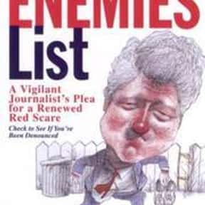 The Enemies List is listed (or ranked) 6 on the list P. J. O'Rourke Books List