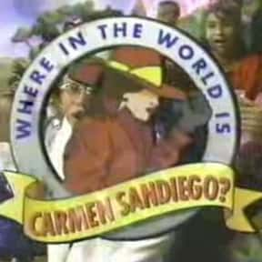 Where in the World Is Carmen S is listed (or ranked) 11 on the list The Best Game Shows of the 1990s