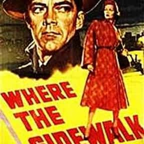 Where the Sidewalk Ends is listed (or ranked) 11 on the list The Best '50s Thriller Movies