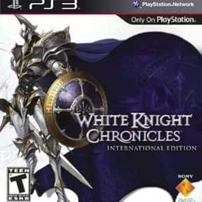 White Knight Chronicles is listed (or ranked) 4 on the list Level-5 Games List