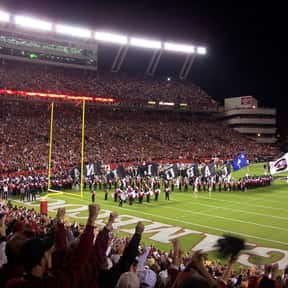 Williams-Brice Stadium is listed (or ranked) 25 on the list The Best College Football Stadiums