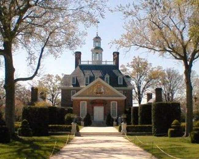 Williamsburg is listed (or ranked) 3 on the list The Coolest Places to Visit from Colonial America