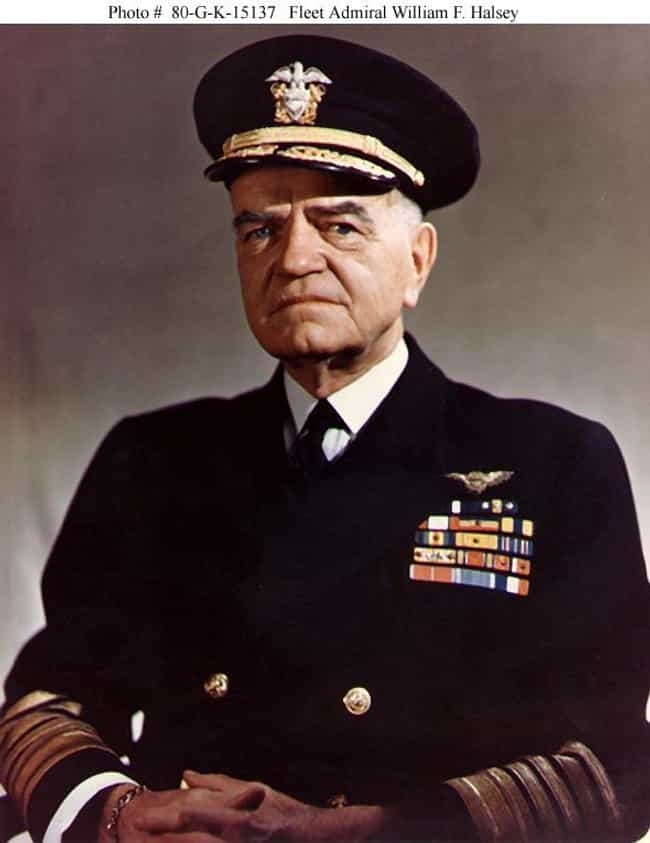William Halsey, Jr. is listed (or ranked) 4 on the list Famous Pingry School Alumni