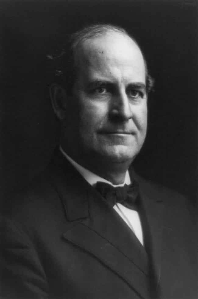William Jennings Bryan ... is listed (or ranked) 4 on the list Famous Male Orators