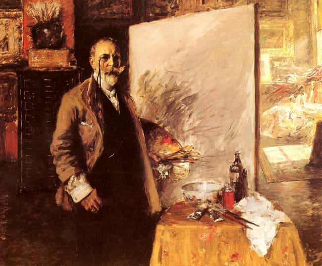 William Merritt Chase is listed (or ranked) 1 on the list Famous Tile Club Artists