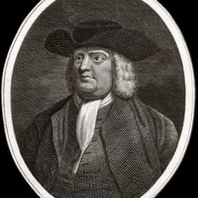 William Penn is listed (or ranked) 5 on the list Famous Christ Church, Oxford Alumni