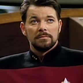 William Riker is listed (or ranked) 17 on the list Fictional Characters Named Bill