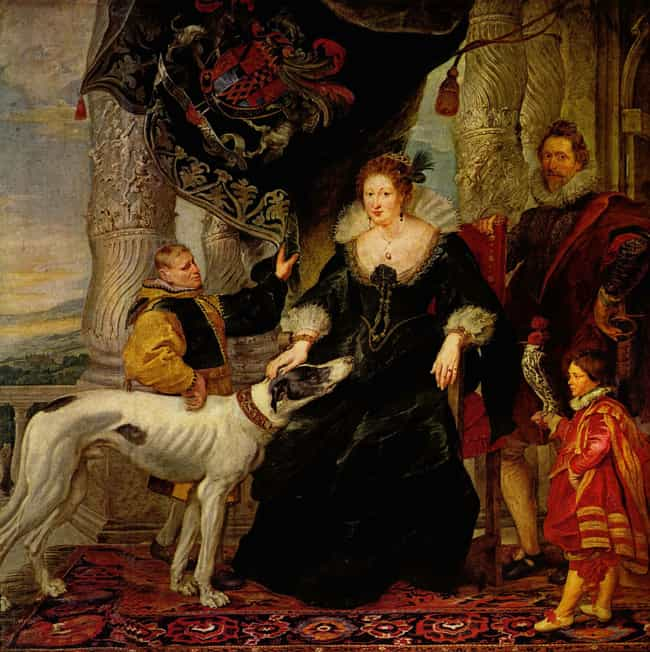 Alethea Talbot with her Husban... is listed (or ranked) 3 on the list Famous Baroque Paintings