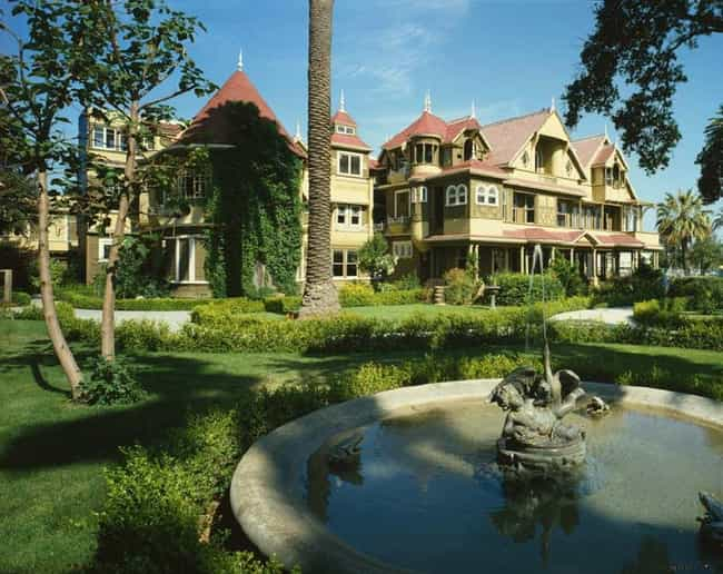 Winchester Mystery House... is listed (or ranked) 2 on the list The World's Most Interesting Unfinished Buildings