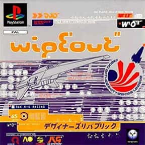 Wipeout is listed (or ranked) 24 on the list The Best PlayStation Racing Games