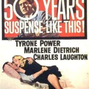 Witness for the Prosecution is listed (or ranked) 22 on the list The Best Oscar-Nominated Movies of the 1950s