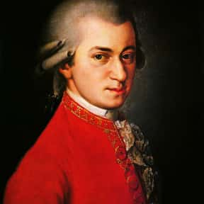 Wolfgang Amadeus Mozart is listed (or ranked) 5 on the list The Most Musically Gifted Children of Musicians