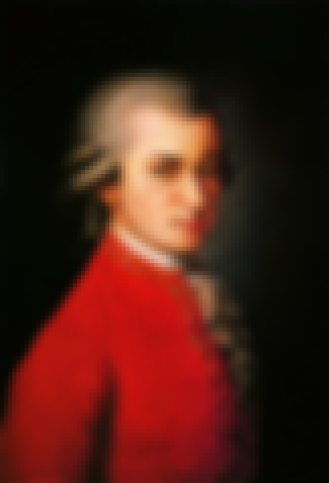 Wolfgang Amadeus Mozart is listed (or ranked) 4 on the list 13 Widely Influential Historical Figures Who Loved Fart Jokes & Dick Jokes
