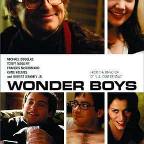 Wonder Boys is listed (or ranked) 14 on the list The Best Movies About Having A Midlife Crisis