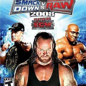 WWE SmackDown vs. Raw 2008 is listed (or ranked) 14 on the list The Best Wrestling Games of All Time