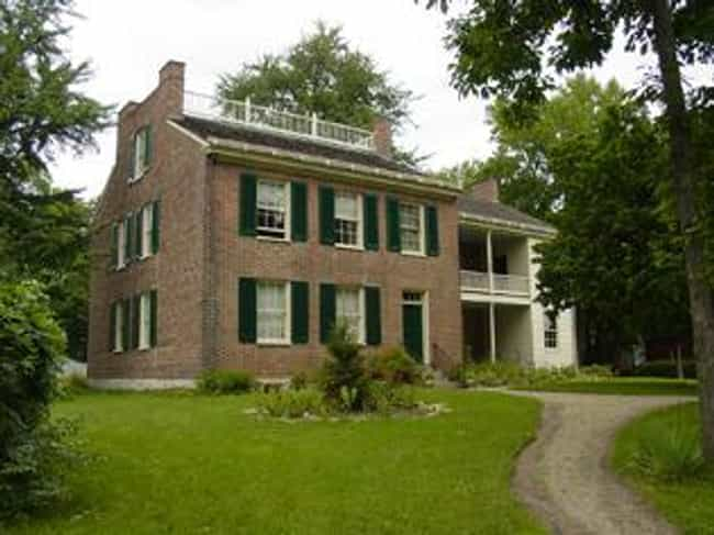 Wylie House is listed (or ranked) 1 on the list List of Famous Bloomington Buildings & Structures