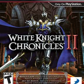 White Knight Chronicles II is listed (or ranked) 6 on the list Level-5 Games List
